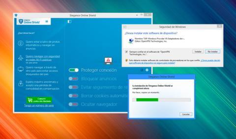 Instala y configura Online Shield VPN