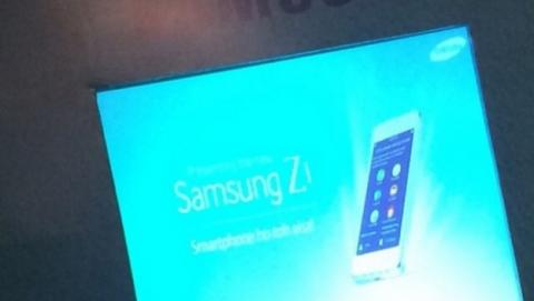 Samsung Z1, el primer smartphone con Tizen, el 18 de enero.