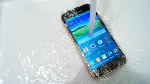 Samsung Galaxy S5 Mini Agua