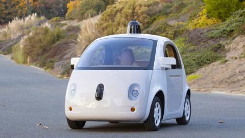 Prototipo coche Google