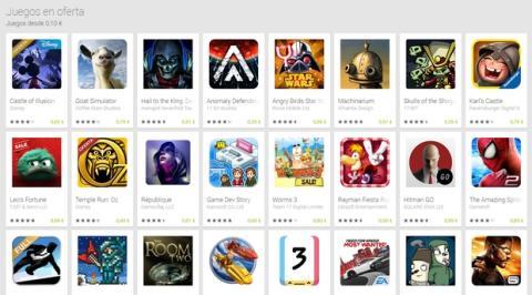 Google Play Ofertas Fin de Año