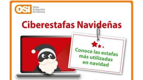 Las ciberestafas más usadas por los hackers y ciberdelincuentes en Navidad.