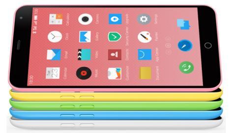 El Meizu M1 el clon iPhone 5C