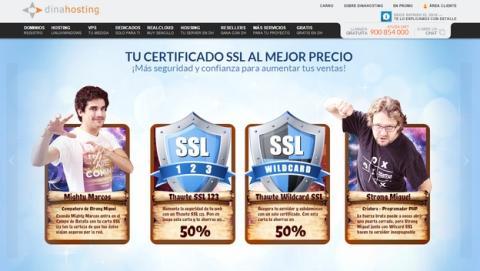 Un ataque DDoS a Dinahosting tumba 60.000 páginas webs españolas durante unas horas.