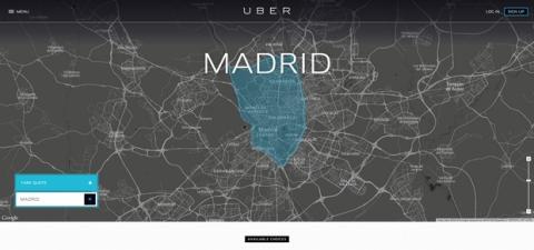 Uber cierra en España
