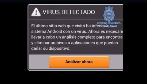 Fraude del falso antivirus