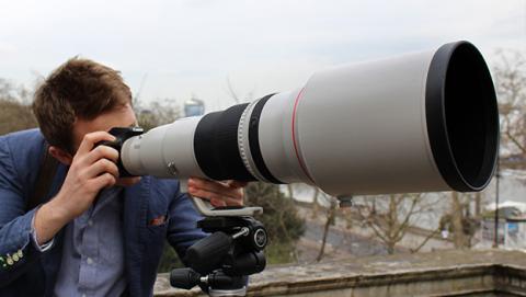 Cámara Canon 50 megapíxeles