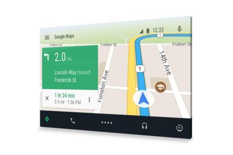 Google Maps en tu coche con Android Auto