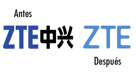ZTE cambia de logo