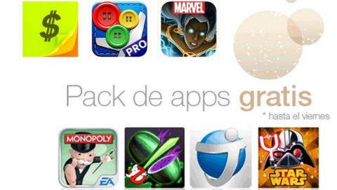 Amazon regala un packs de apps de Android gratis valorado en 90€, en Nochevieja.