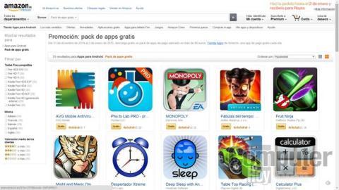 Apps de pago gratis Amazon Nochevieja