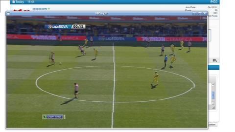 La web para ver fútbol gratis WiZiWiG, también cierra debido a la nueva Ley de Propiedad Intelectual.