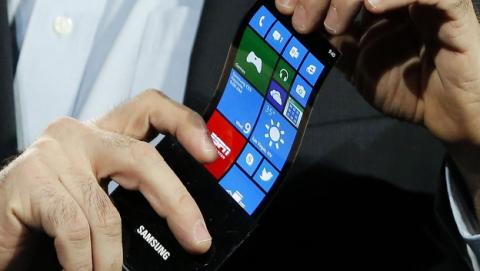Samsung está probando un Samsung Galaxy S6 con pantalla curva.
