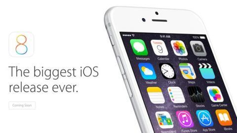 Denuncian a Apple por el tamaño de la actualización de iOS 8