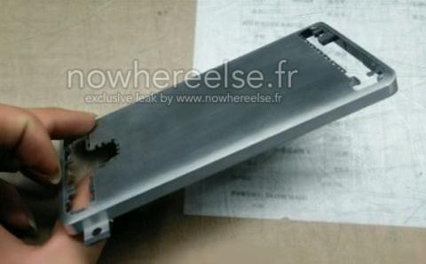 carcasa metálica del Samsung Galaxy S6