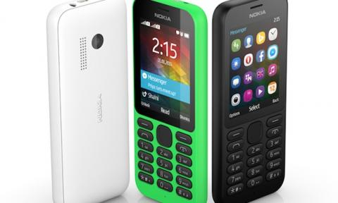 Nokia 215 smartphone 29 dólares