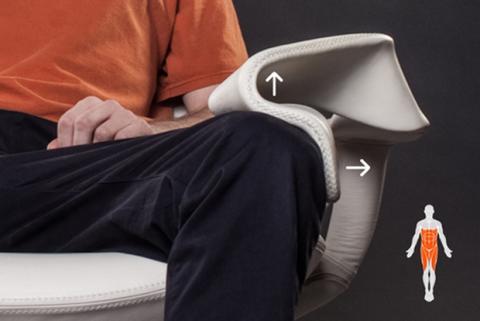 Tao Chair, silla para adelgazar
