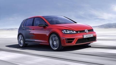 Volkswagen Golf R Touch, el coche que se controla con gestos