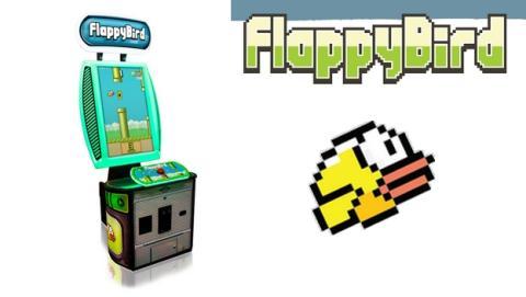 Ya está aquí la máquina recreativa de Flappy Bird (vídeo).