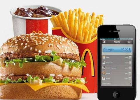 McDonald's carga inalámbrica