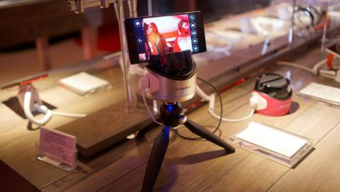 lenovo tripode selfies