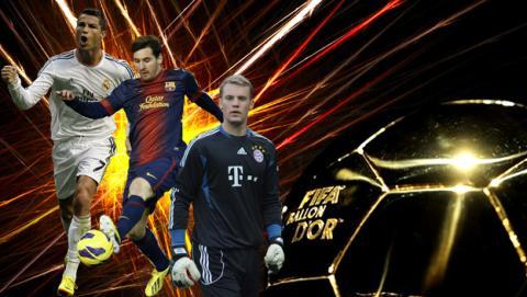 Dónde ver online la Gala FIFA Balón de Oro 2014 en directo