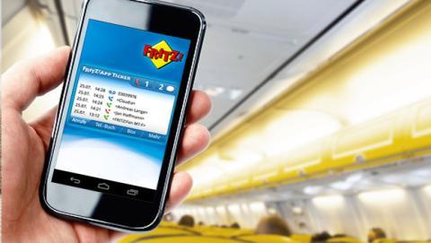 El nombre de una red WiFi provoca el pánico en un vuelo