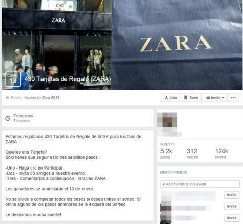 Timo Tarjetas Regalo de Zara