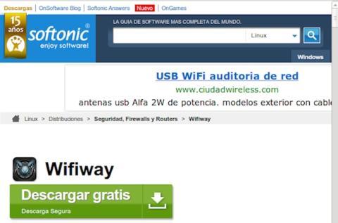 Wifiway softonic