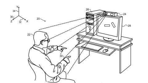 Apple patente control de gestos
