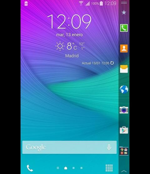 Samsung Galaxy Note Edge (Interfaz)