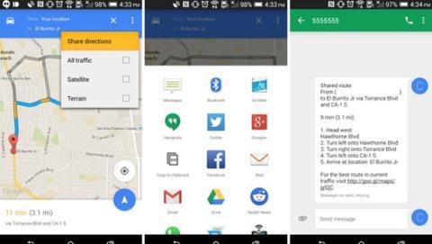 Google Maps actualización 9.3
