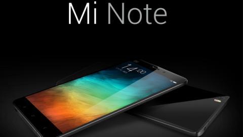 Xiaomi Mi Note y Mi Note Pro presentados oficialmente