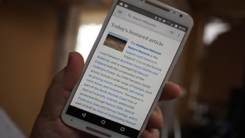 Wikipedia para Android se vuelve más nativa