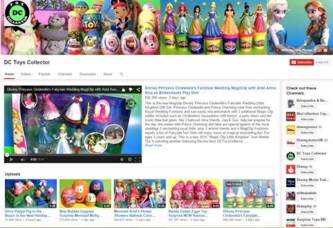Canal de YouTube que más dinero ganó en 2014