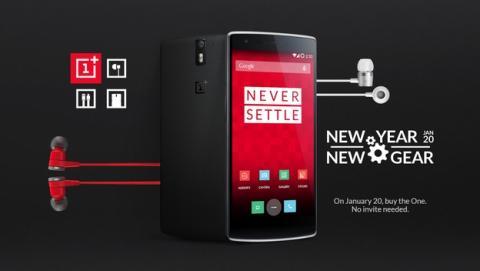 Podrás comprar un OnePlus One el 20 de enero sin invitación.