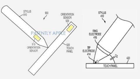 Patente stylus Apple