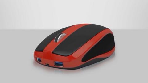 Este ratón esconde un PC completo en su interior