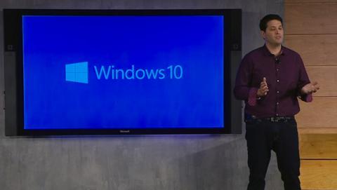 Windows 10 presentación microsoft