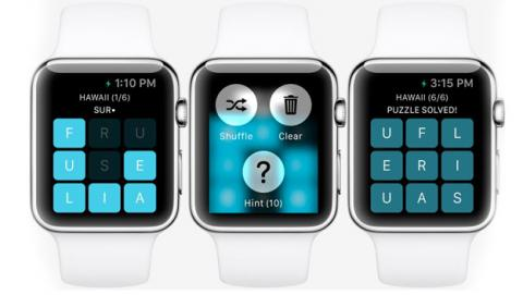 juego apple watch