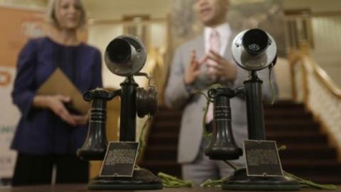 100 años de la primera llamada telefónica transcontinental