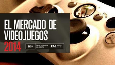 Las ventas de videojuegos en España crecen un 31% en 2014