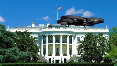 Casa Blanca Drone