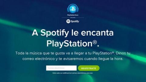 Spotify en PlayStation