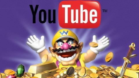 Nintendo te paga dinero si subes vídeos a YouTube.
