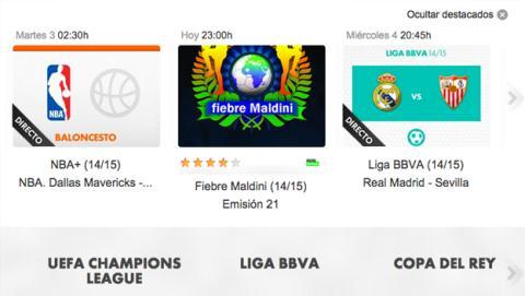 Dónde ver online Real Madrid Sevilla