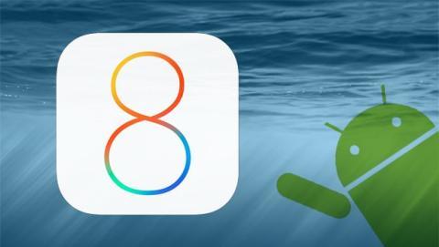 Apps convierten la interfaz de un móvil Android en iOS 8