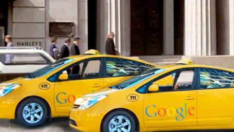Uber google coche