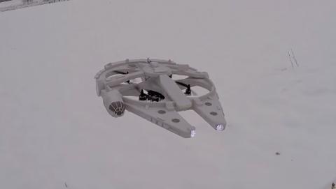 Halcón milenario dron