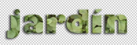 Letras con textura